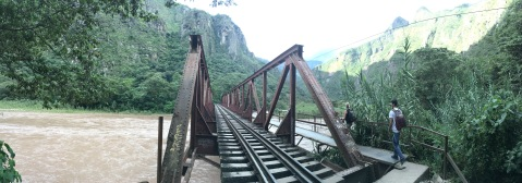 Bridge to Machu Picchu